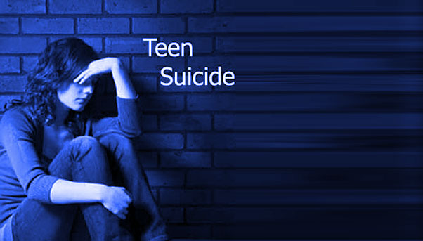 Rates in suicide america teen